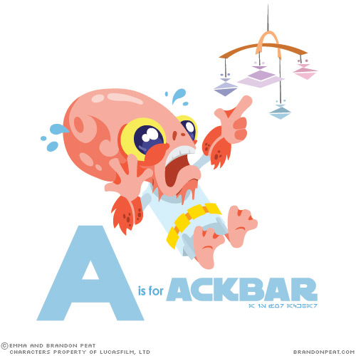 A is for Ackbar Star Wars Characters